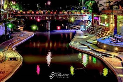 Taman Rekreasi Tukad Korea di Denpasar