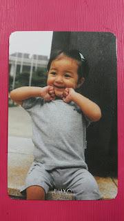 TWICE JIHYO #1 Official Photocard Orange Kid Ver. 1st Album The Story Begins 지효