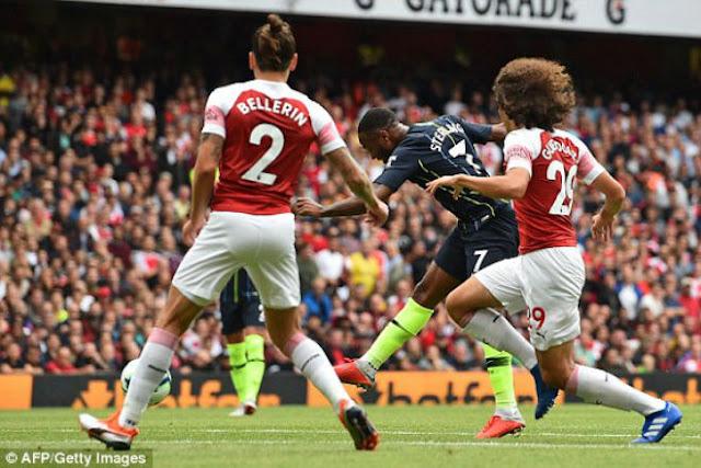 """Video Arsenal - Man City: Siêu phẩm mở màn, """"tra tấn"""" kinh hoàng"""