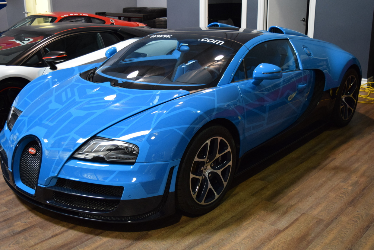 Bugatti veyron grand sport vitesse transformers - photo#1