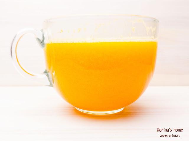 Мандариновый сок: рецепт в блендере