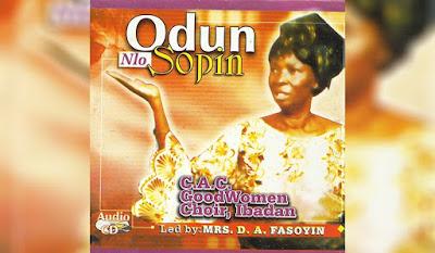 Evergreen Music: Odun Nlo Sopin ~ C.A.C Good Women Choir