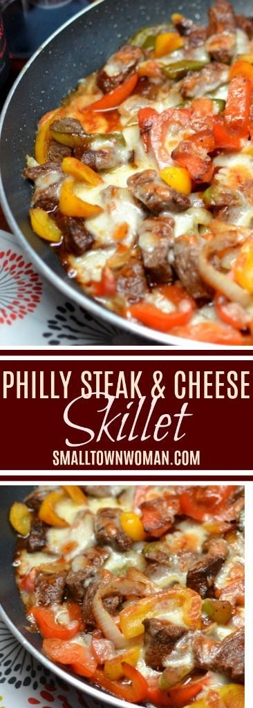 Philly Steak & Cheese Skillet