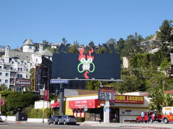 Samurai Jack season 5 Aku billboard