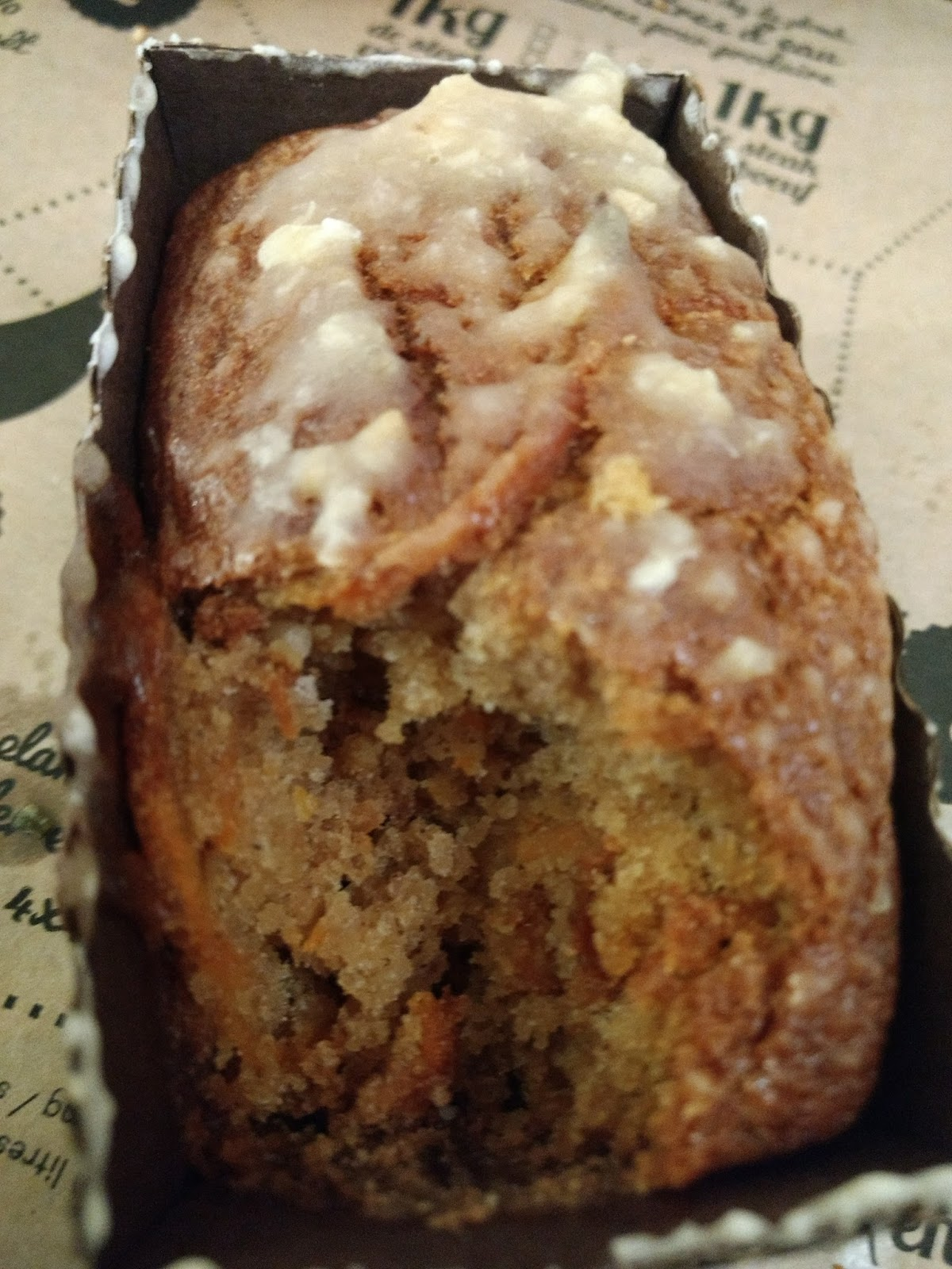 Sw Carrot Cake Oatmeal