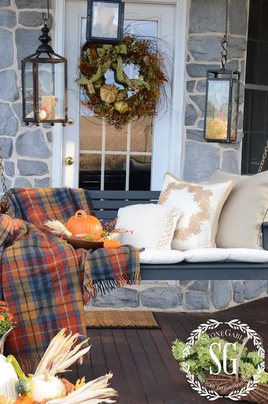 From My Front Porch To Yours- Falling For Fall Porch Party- Stone Gable