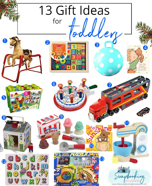 13 Gift Ideas for Toddlers Gift Guide by Ellabella Designs