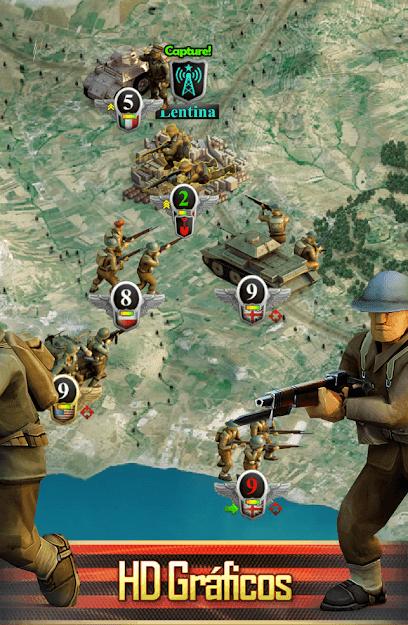 Frontline: Frente Ocidental WWII v 1.7.6 apk full VERSÃO COMPLETA