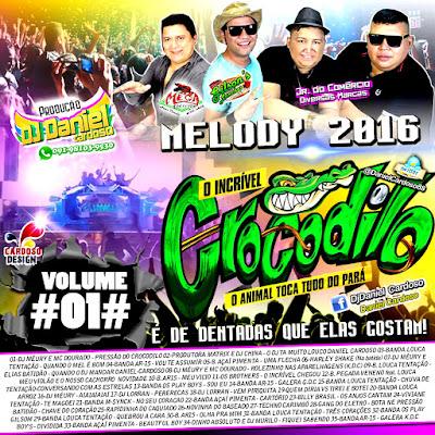 CD CROCODILO MELODY 2016 VOL.01