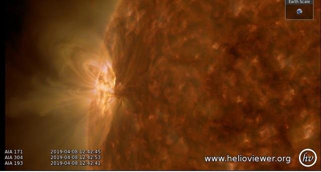 Γιγαντιαία ηλιακή κηλίδα με διάμετρο τρεις φορές σαν την Γη -video