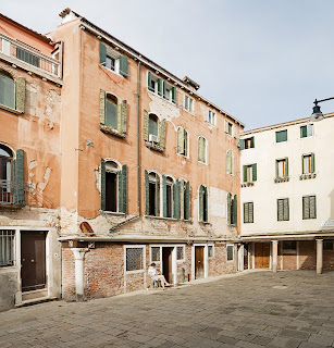 The house in Campiello della Madonna, a small square in Cannaregio, where Guardi lived for much of his life