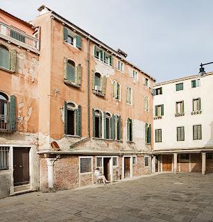 The house in Campiello della Madonna, a small square in Cannaregio, where Guardi lived for much of his life