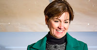A number of Republican governors, like Iowa's Kim Reynolds, support clean energy programs. (Credit: Amy Mayer/Iowa Public Radio Images/Flickr) Click to Enlarge.