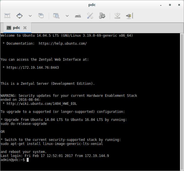 Zentyal para administradores de redes