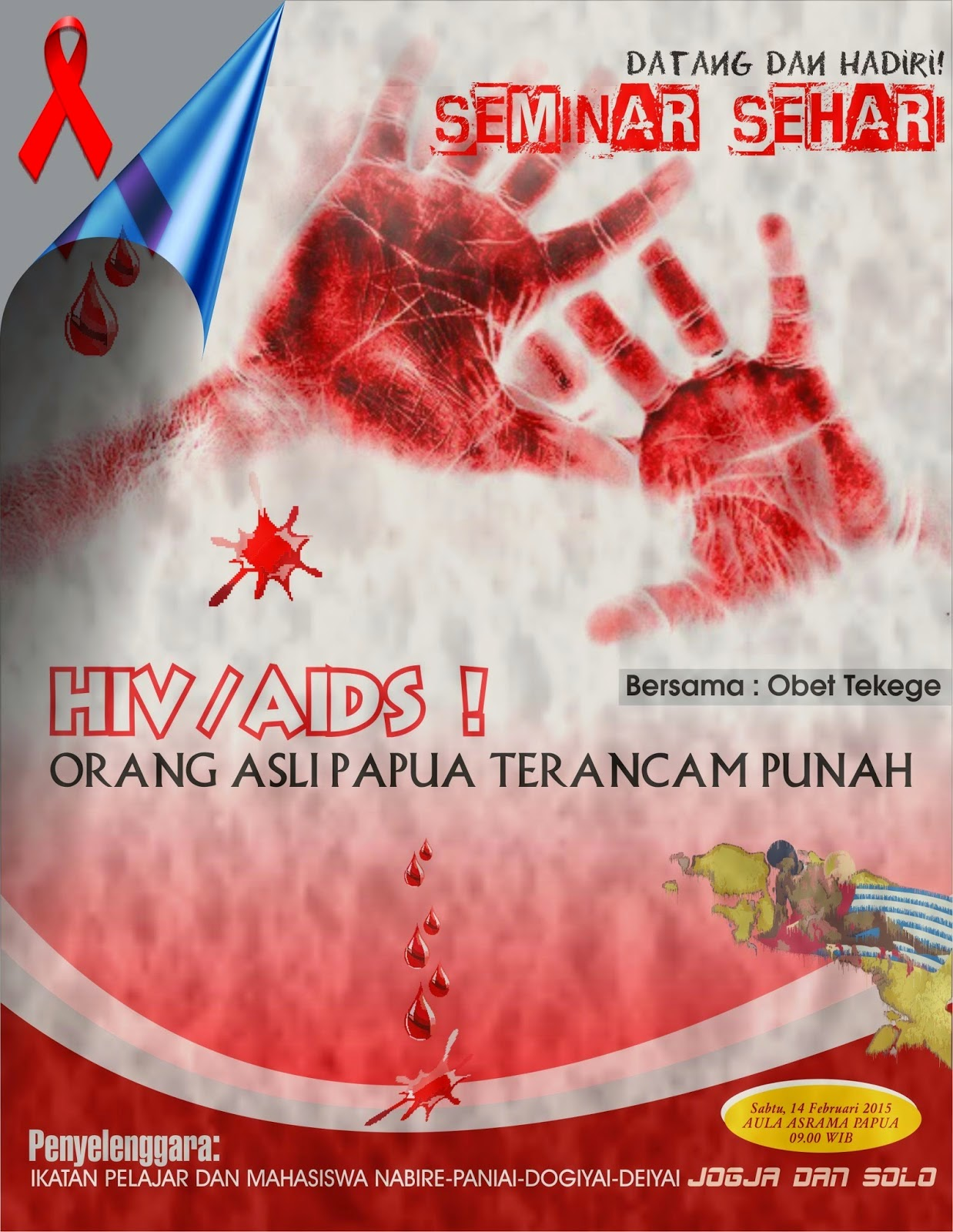 Ugai Piyauto Brosur Seminar Sehari Hiv Aids Oap Terancam Punah