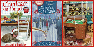 6 Culinary Cozy Mysteries