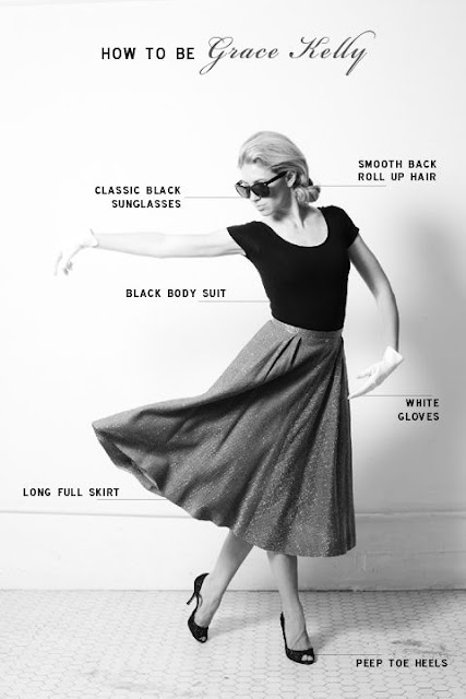 In The Studio Feature Friday How To Dress Like Grace Kelly