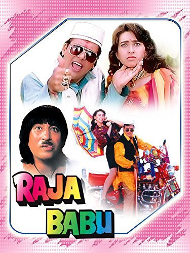 Poster Of Raja Babu 1994 Hindi 720p HDRip Free Download Watch Online