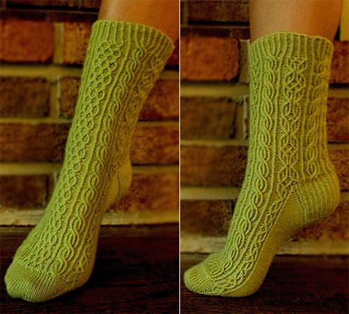 Bayerische Socks - Free Pattern