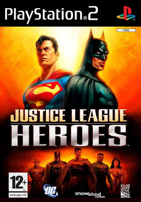 Justice League Heroes (PS2) 2006