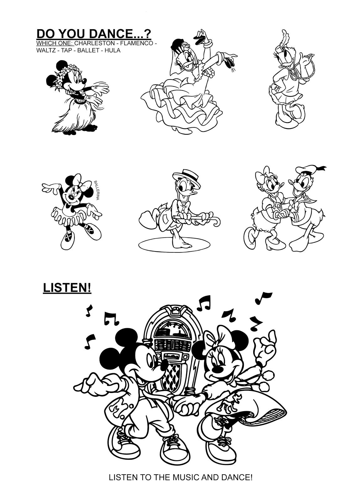 Páginas para colorear originales Original coloring pages