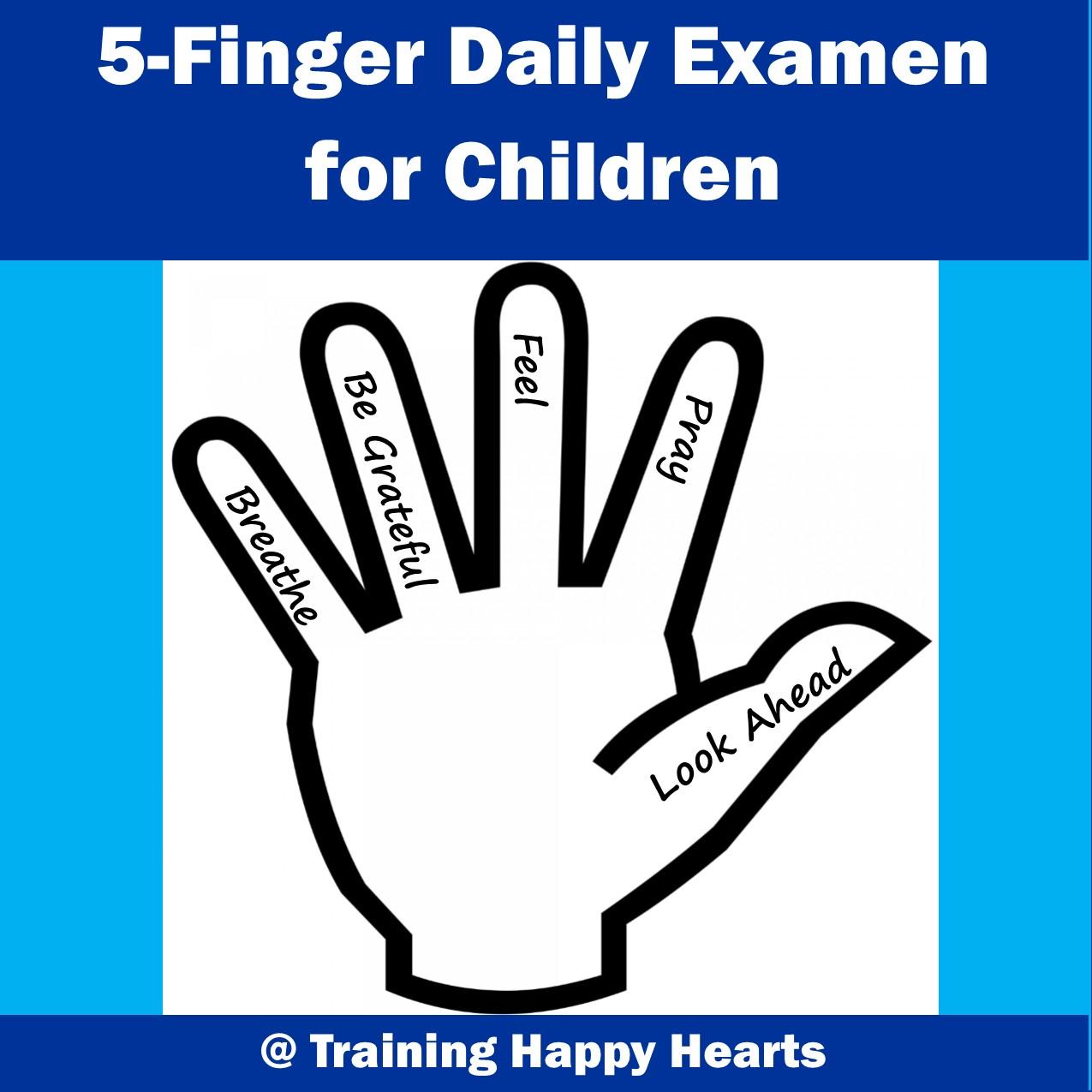 Five Finger Prayer Pope
