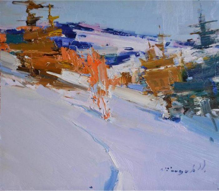 Украинский художник. Александр Шандор