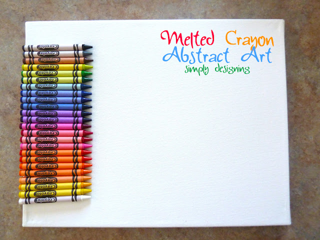melted crayon canvas Melted Crayon Abstract Art 14