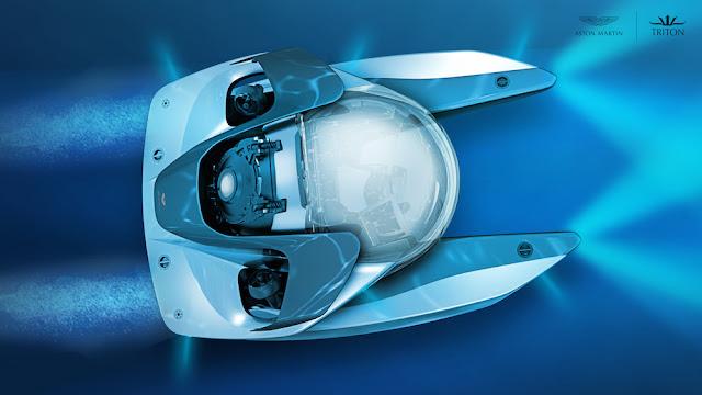 アストンマーティンの潜水艇「Project Neptune(プロジェクト・ネプチューン)」が登場へ!スタイリッシュなデザインで価格は4億円以上?