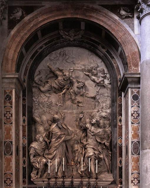 Аттила. Барельеф собора Святого Петра