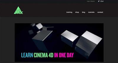 Belajar Cinema 4D Gratis di hello luxx