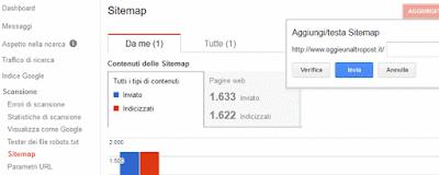 Come inviare la sitemap a google per indicizzare meglio il proprio sito