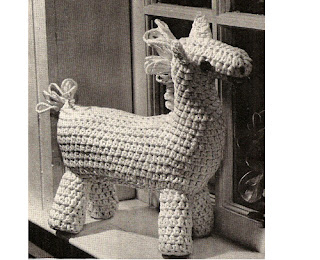 Crochet Horse stuffed toy pattern