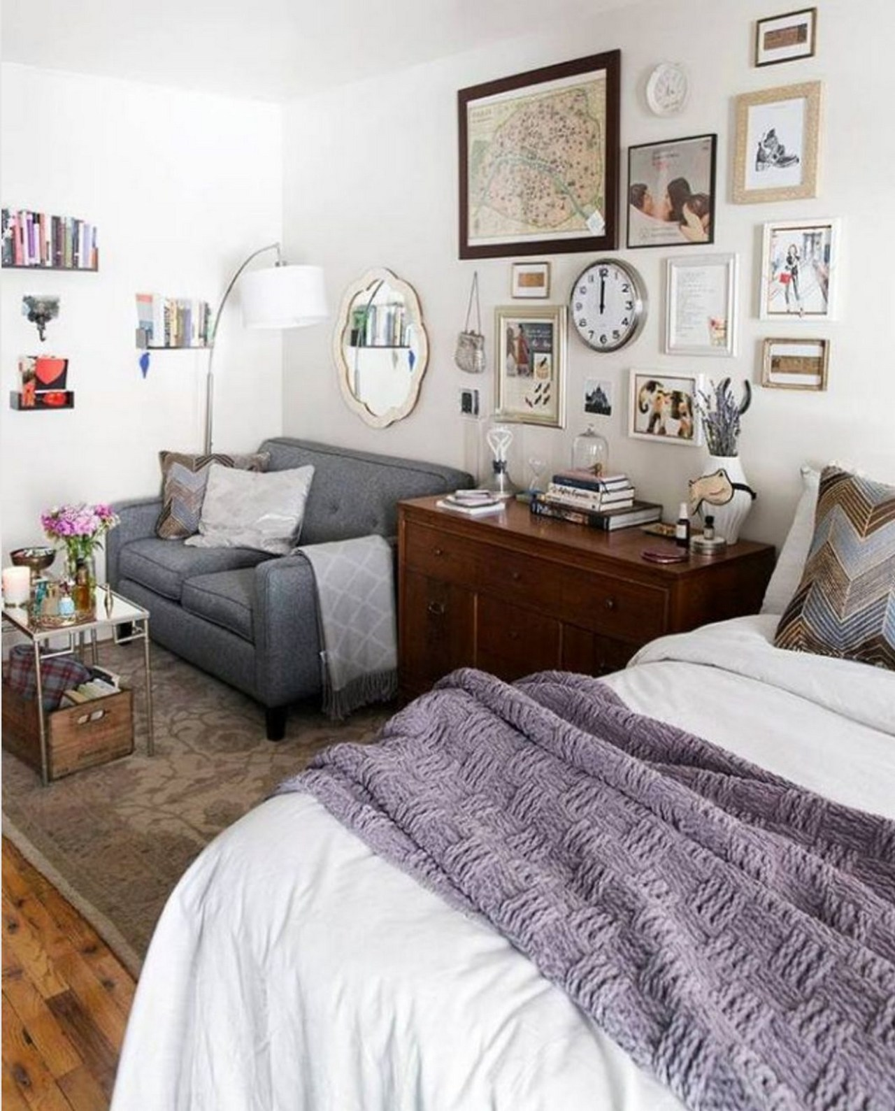 Studio Apartment: 20 Perfect Small Apartment Decorating On A Budget