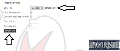 Upload Script Deface di Website Target