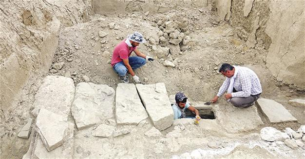 2,800-year-old Urartian sewage system unearthed in Van