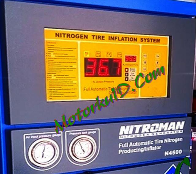 Apa Boleh Mencampur Nitrogen dan Angin Biasa pada Ban Kendaraan ?