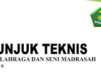 Petunjuk Teknis Pekan Olahraga dan Seni Madrasah Tahun 2019