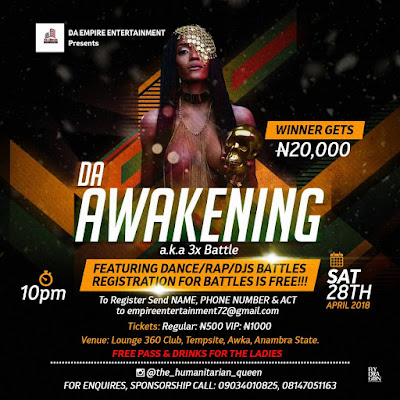 Da EMPIRE ENT. PRESENTS Da AWAKENING launching Party.