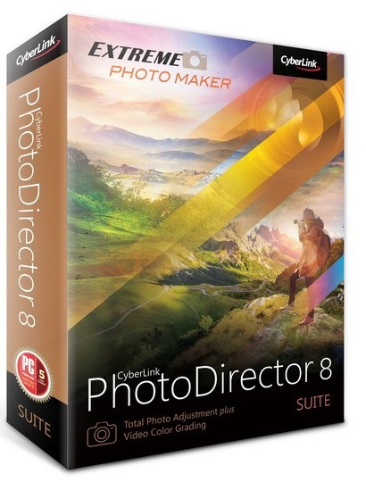CyberLink PhotoDirector Suite 8.0.2706.0 poster box cover