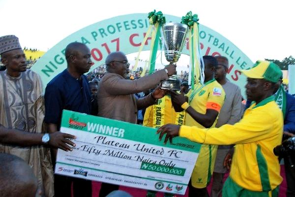 Plateau United Emerges The NPFL 2016/2017 Champions