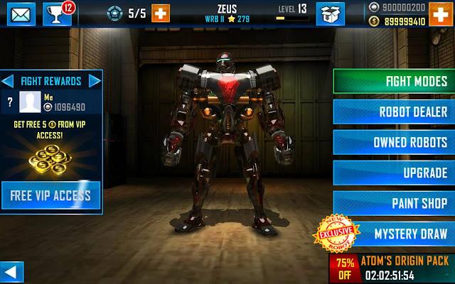 Real Steel Champions v1.0.371 Mod Apk