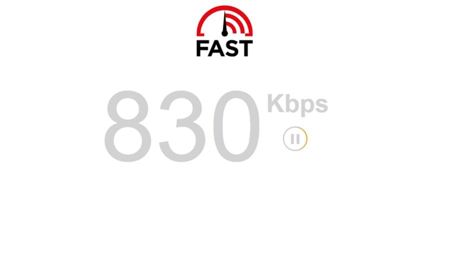 طريقة قياس سرعة الانترنت ومعرفة سرعة التنزيل والرفع لديك بدون برامج