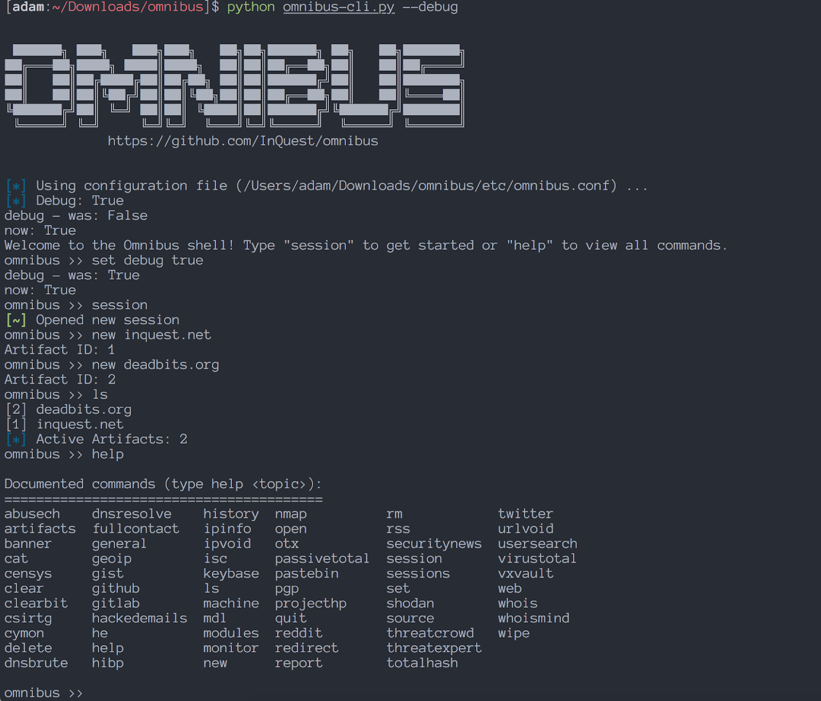 Omnibus - Open Source Intelligence Collection, Research, And