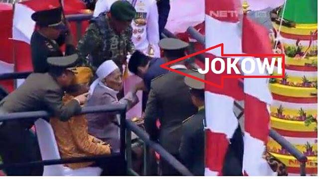 Ulama Besar yang Sangat Dihormati Presiden Jokowi Ini Wafat Saat Sujud Shalat Magrib