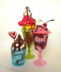 Library Arts: Model Magic Ice Cream Treat!
