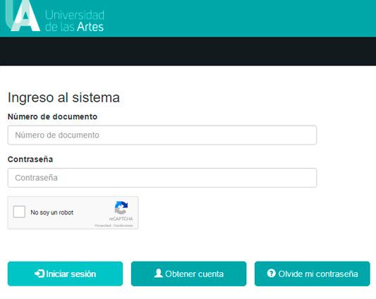 asignacion cupos  resultados Universidad de las Artes