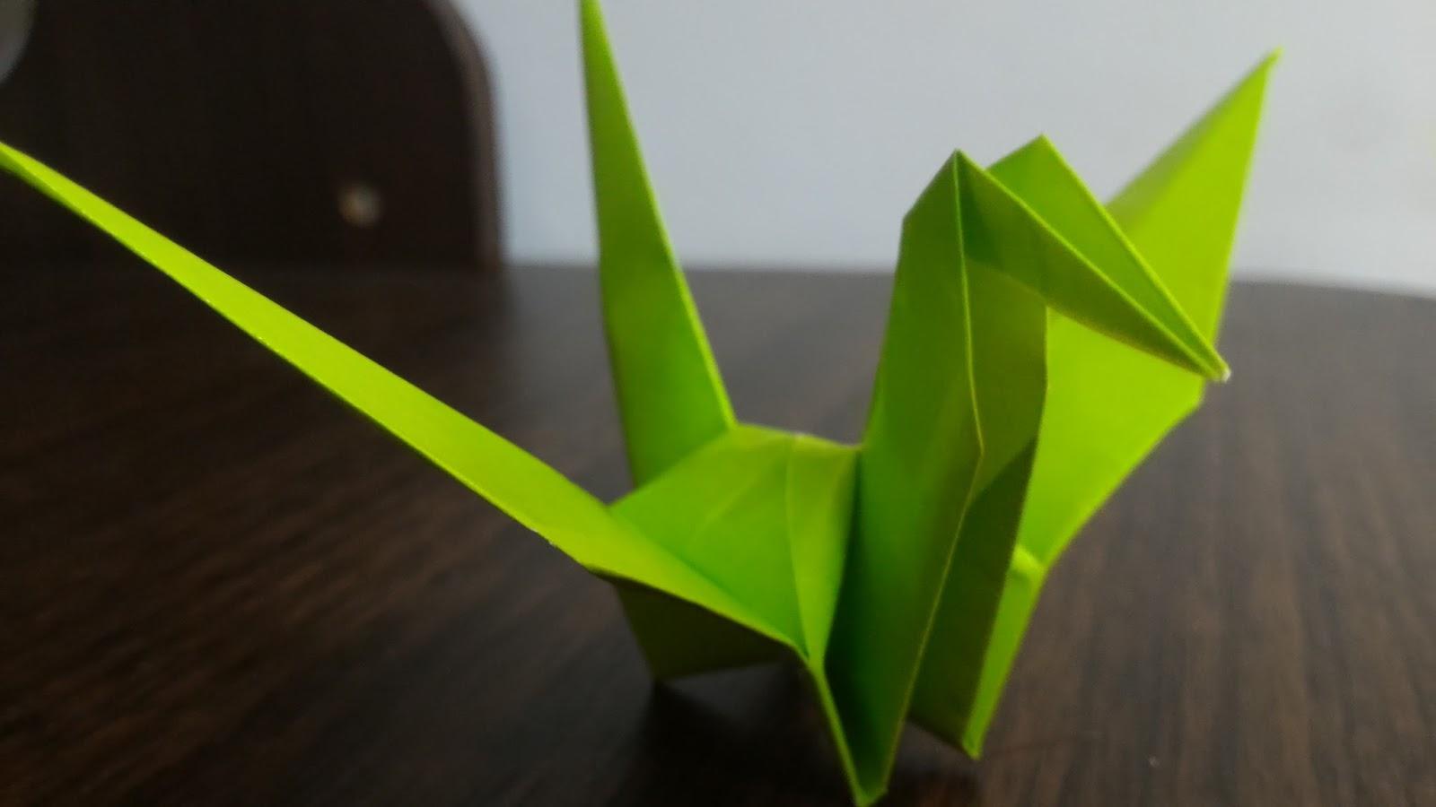 茶包: 你還不會折紙鶴嗎? - 紙鶴教學