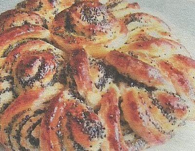 Домашний пирог с маком: состав продуктов и способ приготовления
