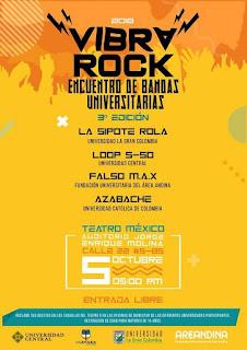 VIBRA ROCK Bogotá 2018 2